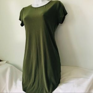 Long Olive Green Tunic